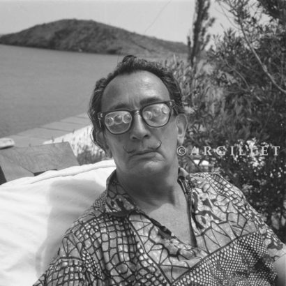 Photo of Dali and magnificent glasses 1
